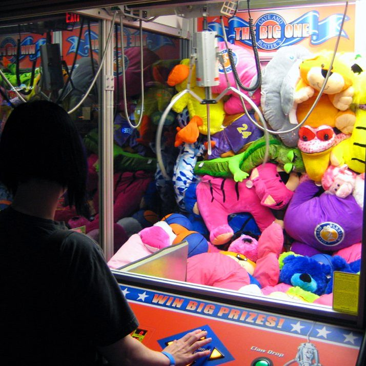 claw machine fairfield