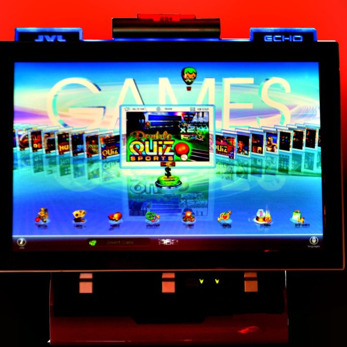 touchscreen arcade fairfield amusements